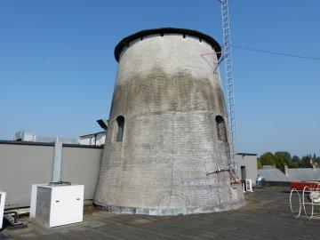 Foto van Nieuwe Molen<br />Molen aan de Houvast<br />Highstreet, Hoogstraten, Foto: Willem Jans, 04.09.2013   Database Belgische molens