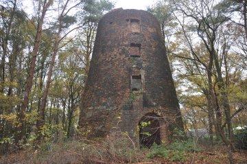 Foto van Zwarte Molen<br />Den Duivel<br />Molen Peinen, Kasterlee, Foto: Donald Vandenbulcke, 24.11.2013 | Database Belgische molens