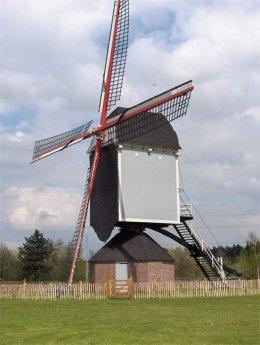 Foto van Buulmolen - II<br />Hoogbuulmolen - II, Olen, Foto: François Gijsbrechts, Linkhout | Database Belgische molens