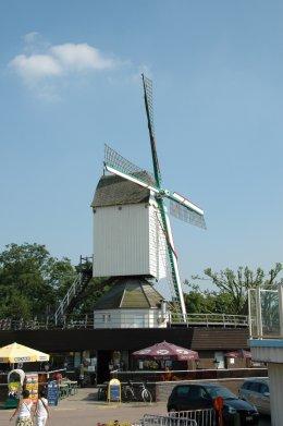 Foto van Molen van Sint-Anneke<br />Molen van t Veertje, Antwerpen, Foto: Donald Vandenbulcke, Staden   Database Belgische molens