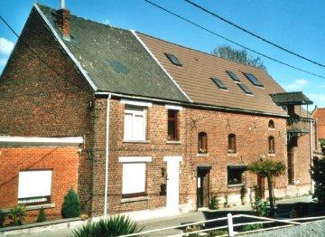 Foto van <p>Moulin de Maffle<br />moulin D'Haenens</p>, Maffle (Ath), Foto: Lieven Denewet   Database Belgische molens
