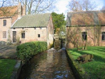 Foto van Stalse Molen<br />Lemmensmolen, Koersel (Beringen), Foto: Frans Van Bruaene, Laakdal, 15.02.2007 | Database Belgische molens