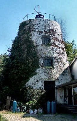 Foto van De Oude Madrienne, Hundelgem (Zwalm), Foto: Thomas Piens, Zingem | Database Belgische molens
