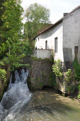 Foto van <p>Koningsmolen<br />'s Hertogenmolen</p>, Eliksem (Landen), Foto: Donald Vandenbulcke, Staden   Database Belgische molens