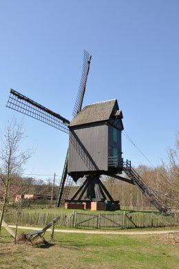 Foto van <p>Heimolen</p>, Langdorp (Aarschot), Foto: Donald Vandenbulcke, Staden, 06.04.2010 | Database Belgische molens