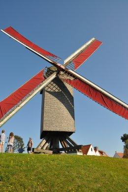 Foto van Kalfmolen, Knokke (Knokke-Heist), Foto: Donald Vandenbulcke, Staden  | Database Belgische molens