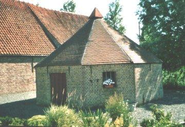 Foto van Rosmolen Lootens, Stalhille (Jabbeke), Foto: Lieven Denewet | Database Belgische molens